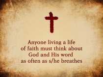 living a life of faith