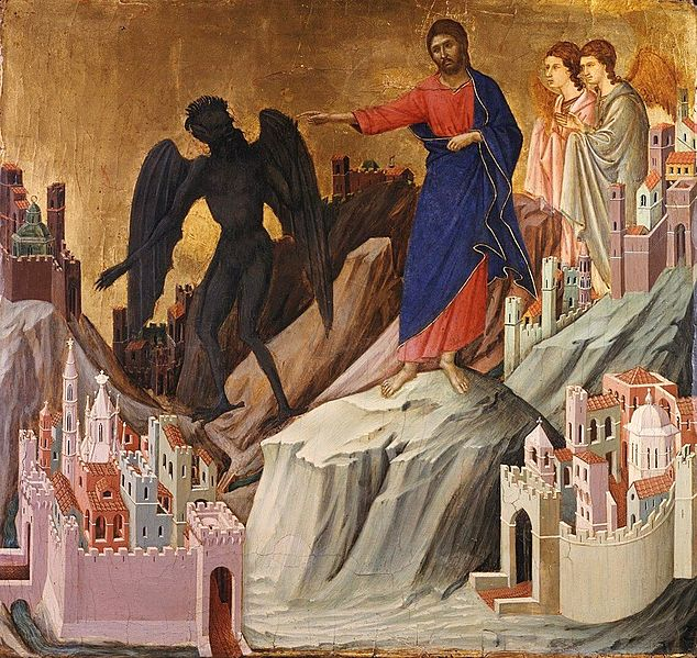 634px-Duccio_-_The_Temptation_on_the_Mount